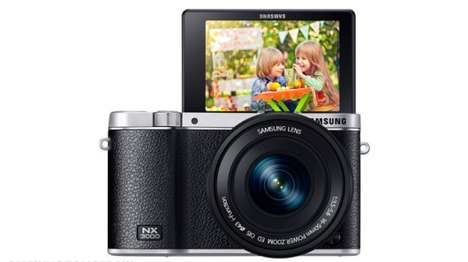 Selfie-Snapping Cameras - The Samsung NX3000 Snaps Selfies When Triggered by a Wink