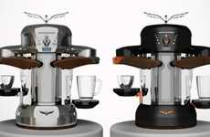 Dynamic Coffee Machines - 'La Fenice' Makes Both Traditional Italian Espresso and American Coffee
