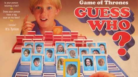 Fantasy Game Tributes - This GOT Version of the Popular Guess Who Game is Humorous