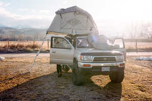 The Poler LeTent Rooftop Tent Attaches to the Roof of Your Car