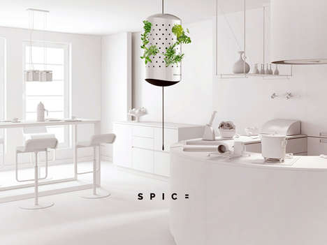 Hi-Tech Plant Incubators - SPIC= by Kristof Koczka is a 2014 Electrolux Design Lab Finalist