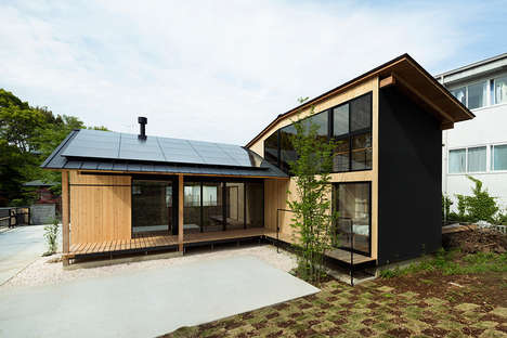 Tiny Timber-Clad Abodes - JP Architects Focuses on Wood Materials for the