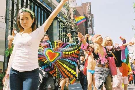 Pride-Celebrating Photography - Miri Matsufuji Photographed the Tokyo Rainbow Pride Parade
