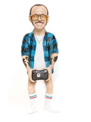 Creepy Photographer Figurines - This Terry Richardson Doll Set Will Soon Be Available Online
