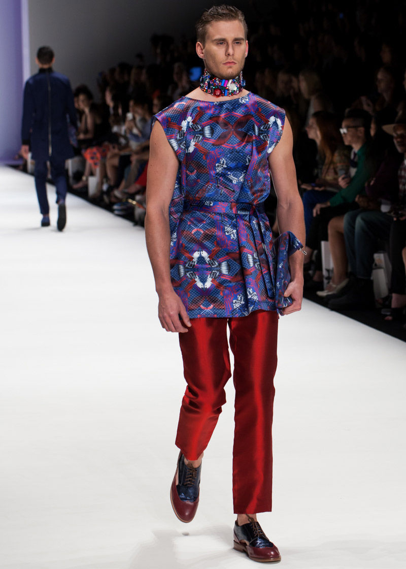 Gender-Bending Print Fashions