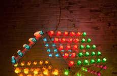 Technicolored Bulb Illuminators