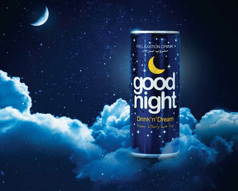 Relaxing Nighttime Drinks - The Good Night Drink Naturally Helps You Ease into Sleep