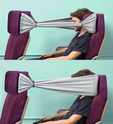 Privacy Flight Bands - The B-Tourist Strip Increases Comfort While Flying