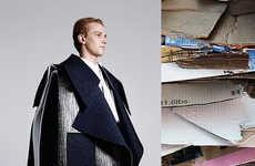 Artfully Deconstructed Menswear