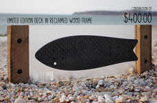 Recycled Fishnet Skateboards - Bureo is Raising Funds for a Cleaner Ocean