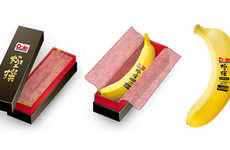 Serial Numbered Fruits - Limited Edition Gokusen Bananas are Being Sold in Japan