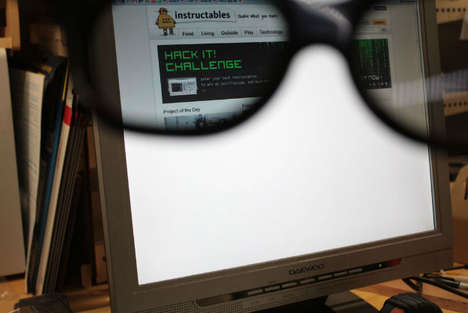 DIY Privacy Monitors - This Hack Lets You Hide What's on Your Computer Screen From Everyone But You