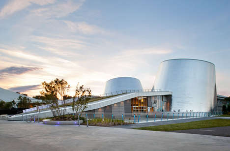 Telescope-Resembling Planetariums - The Rio Tinto Alcan Planetarium in Montreal Looks High-Tech