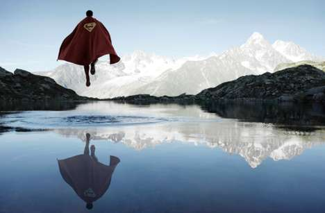 Scenic Superhero Portraits - Benoit Lapray Snaps Portraits of Superheroes in the Great Outdoors