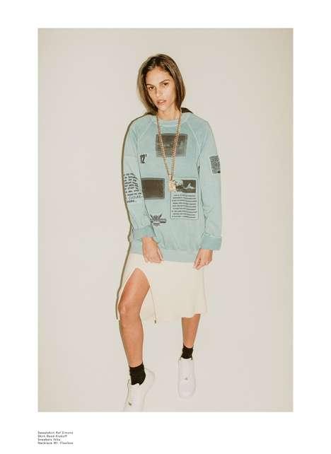 Raw Urban Editorials - The Fashion Gone Rogue 'Hello Dani!' Photoshoot Stars Danielle Pontes