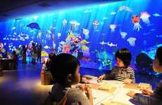 Animated Paper Fish Aquariums