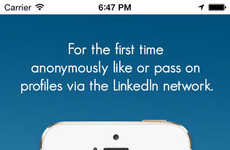 Career-Oriented Dating Apps - LinkedIn Creates an Online Dating App Called LinkedUp! App