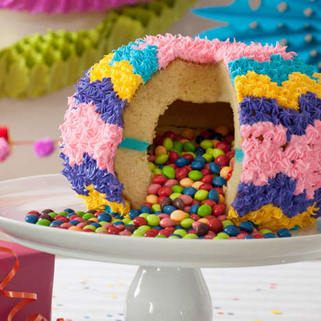 Mexican Game-Inspired Baking Tools - The Pinata Cake Pan Makes Candy-Filled Desserts Easier to Bake
