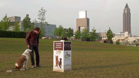 Incentivized Fetch Machines - GranataPet's Pet Snack Machine Rewards Pets After a Game of Ball