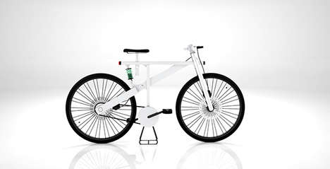 Sleek Heavy-Duty City Bicycles - The Summit T Bike by Antonio Serrano Anticipates Various Terrains