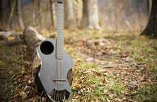 The Alpaca Carbon Fiber Travel Guitar is Ready for Any Adventurous Trip