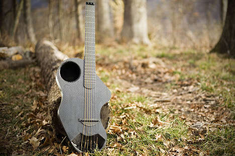 Travel-Focused Guitars - The Alpaca Carbon Fiber Travel Guitar is Ready for Any Adventurous Trip