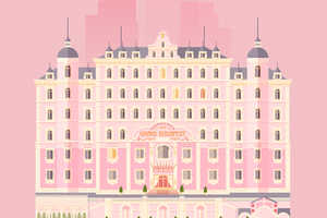These Grand Budapest Hotel Pictures by Lorena G. Look Flattened