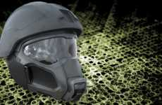 Revolutionary Respiratory Helmets - This Self-Contained Helmet Will Keep Soldiers Cool & Comfortable