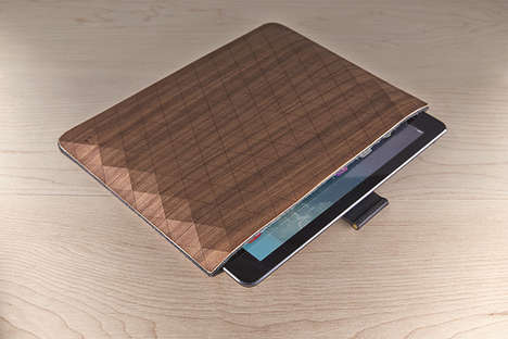 Wooden Tablet Protectors - The Grovemade iPad Sleeve is Full of Stylish Warmth
