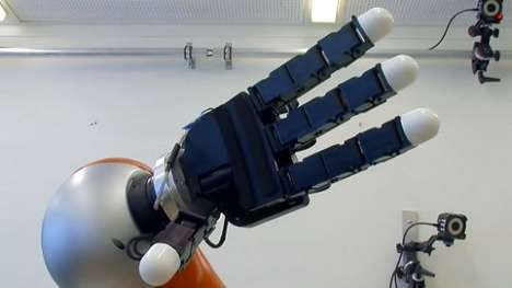 Prodigious Catching Robots - This Robotic Arm Can Calculate the Path of Moving Objects & Catch Them