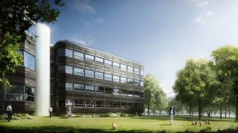 Eco-Friendly Buildings - Powerhouse Kjorbo is the First Building Renovated to Be Energy-Positive