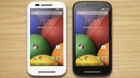 Cost-Conscious Smartphones - The Moto E is a Handy, Wallet-Friendly Smartphone