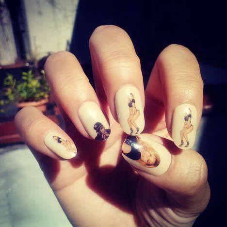Pop Couple Nail Decals - These Nail Decals are Perfect for the Upcoming Beyonce and Jay Z Tour