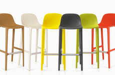 Industrial Waste-Made Stools - Philippe Starck and Emeco Elaborate on the Broom Collection