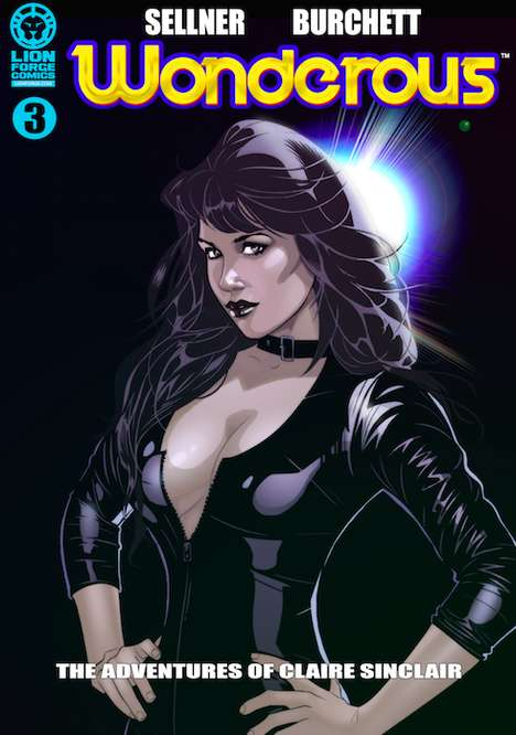 Sultry Superheroine Comics - Wonderous Was Developed by and Stars Former Playmate Claire Sinclair