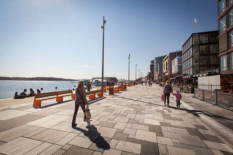 Spontaneity-Encouraging Promenades - The Stranden Waterfront is Refurbished by Link Arkitektur