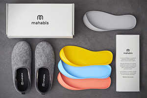 The Mahabis Slippers Can Easily be Worn Indoors and Outdoors