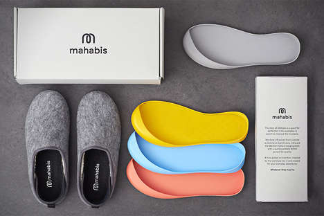 Detachable Sole Slippers - The Mahabis Slippers Can Easily be Worn Indoors and Outdoors