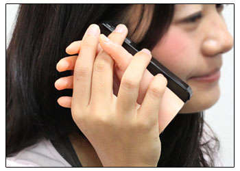 Eerie Anatomical Phone Cases - The Hand iPhone Case Allows Callers to Hold Hands with Their Phone
