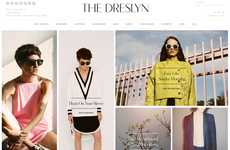 Dialogue-Oriented Shopping Platforms - The Dreslyn E-commerce Site Promotes Conversational Retail