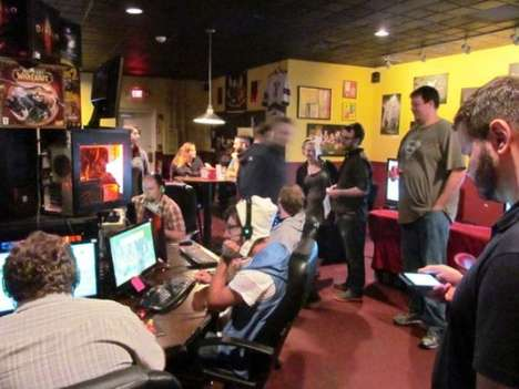 Video Game Bars - Battle and Brew is a Video Game-Themed Bar in Atlanta