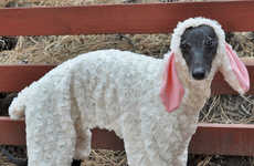 Thes Woof in Sheep's Clothing Pet Pyjamas Are Fiercely Fluffy