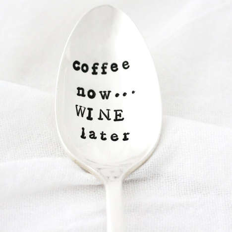 Wine Enthusiast Silverware - The Friday Morning Spoon Counts Down the Hours to Freedom