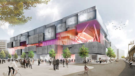 Adventurous Shopping Centers - This German Studio Has Designed a Concept for a Berlin Shopping Mall