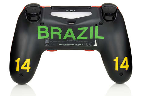 Soccer-Themed Controllers - Sony is Offering Customized Playstation Controllers Before FIFA 2014