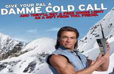 Heroic Beer Promotions - The Coors Light Damme Cold Media Campaign Features Jean-Claude Van Damme