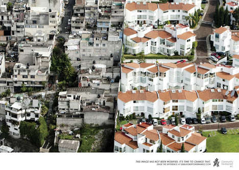 Wealth Disparity Ads - The Banamex/CDC Erase the Difference Campaign Addresses Mexico
