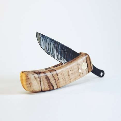 Tribalesque Folding Blades - The Workerman KUT Ambrosia Maple Knife is Full of Texture