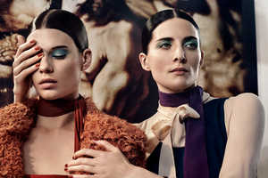 The Interview Magazine 'Two.' Photoshoot Stars Kim and Querelle