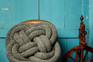 NotKnot Pillows are Oversized and Inspired by Scout Knots